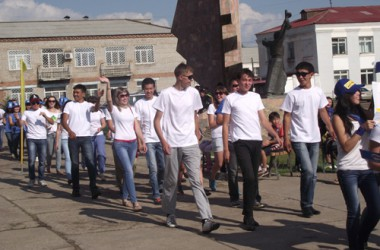 Джидинский район Фестиваль молодежи